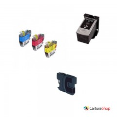 Cartus cerneala compatibil Eco Lexmark 200XL Black